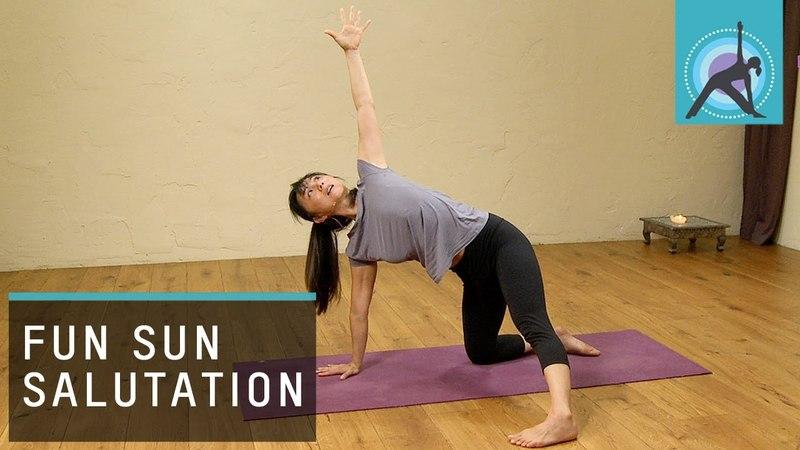 Sun Salutation, Yoga Warm up with Aki Omori