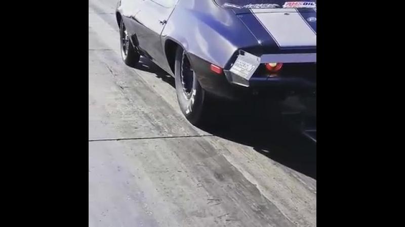 Monza test camaro twin turbo
