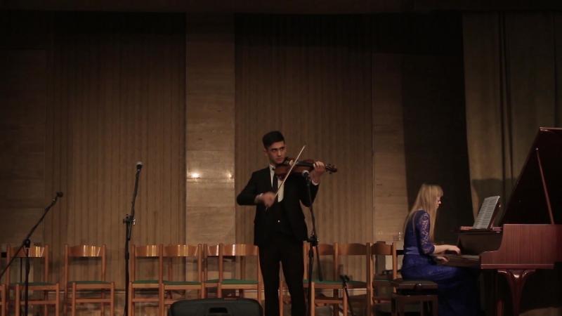 Бекбаев Санджар - Соната для скрипки и фортепиано