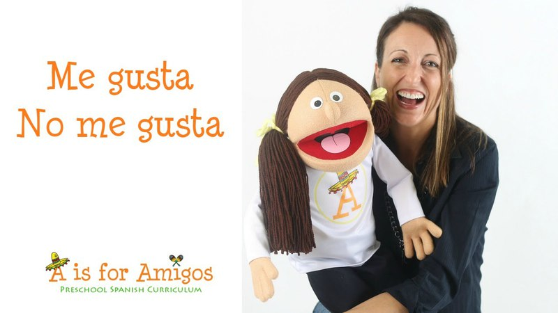 ME GUSTA, NO ME GUSTA: Spanish Lessons for Children