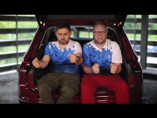 Стиллавин и Вахидов в Краснодаре на Volkswagen Driving Experience