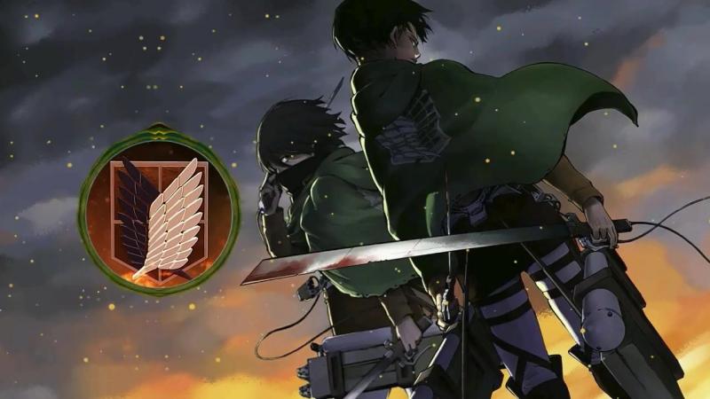 Вторжение Титанов 2-й сезон оп [Shinzou wo Sasageyo!] (Русский кавер от Jackie-O