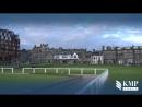 Гольфовые поля в шотландском городке Сент Андрус