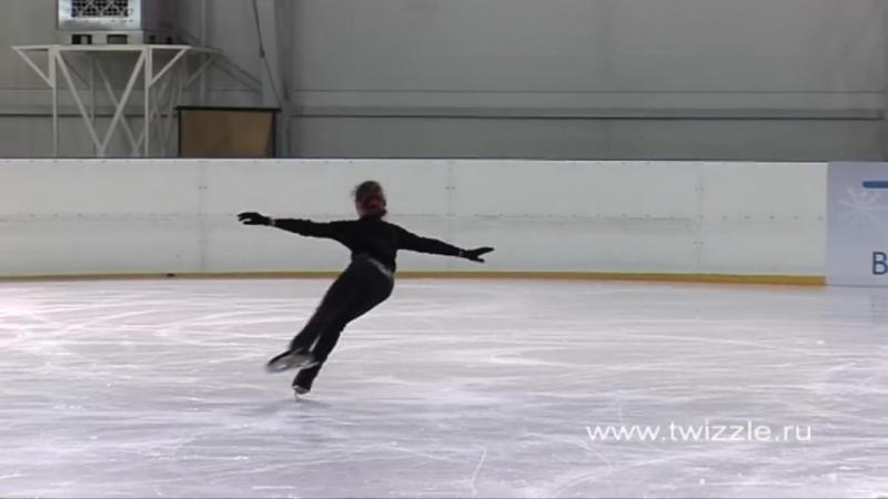 Сальхов (1 оборот) в исполнении Аделины Сотниковой