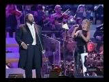 Pavarotti e Irene Grandi Guarda che luna Sola me ne vo