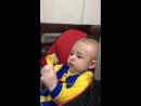Первый прикорм кабачок Константину Сергеевичу 6 месяцев ❤️