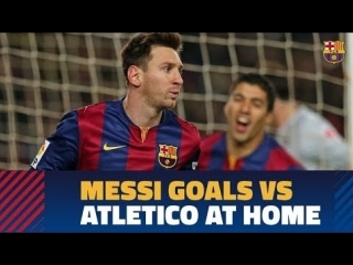 15 голов Месси в ворота Атлетико на Камп Ноу