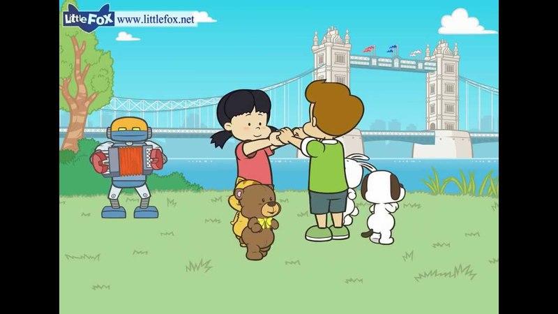 London Bridge Is Falling Down | Nursery Rhymes by Little Fox