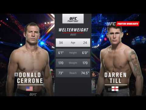 Darren Till vs. Donald Cerrone Full Highlights