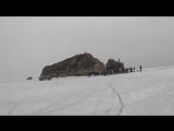 Велосипедисты Владивостока прокатились по льду к
