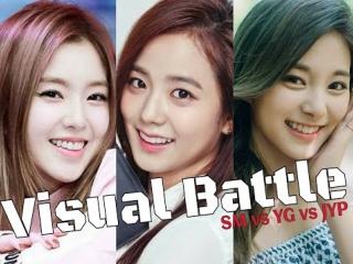 Visual Battle _ Irene vs Jisoo vs Tzuyu