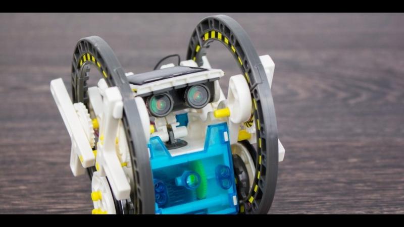 Конструктор-робот Solar 14 в 1. TendBoo