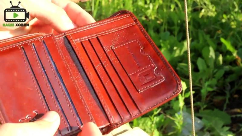Мужской кошелек BISON DENIM из Китая