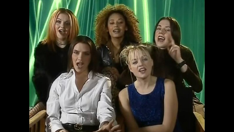 Spice Girls Interview - The Chart Show 14.12.1996