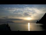 Раннее утро в Зеленой бухте Новый Свет