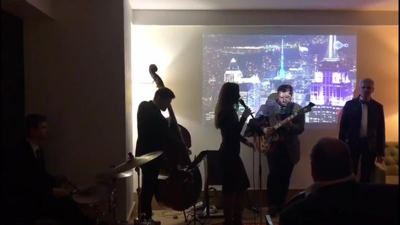 St. Petersburg - Вечер джаза в Demetra Art Hotel.