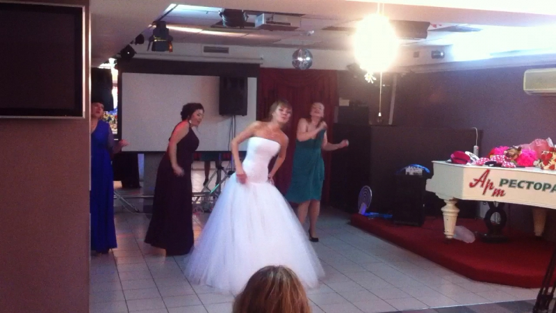 Танец невесты и подружек 8.09 😘