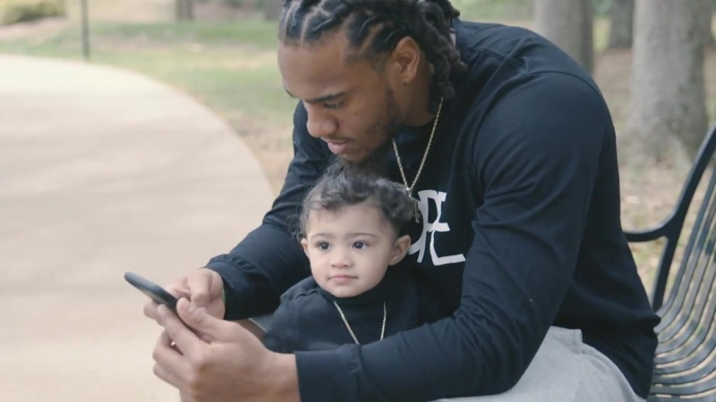 Fresh twist and a Daddy Daughter date is a great day for linebacker Shaq Thompson