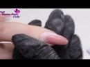 Коррекция Нарощенных Ногтей спустя 2месяца- Зимний Дизайн Ногтей