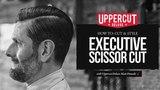 Haircut Tutorial How To Cut and Style an Executive Scissor Cut UPPERCUT DELUXE Matt Pomade