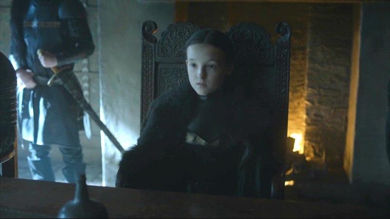Lyanna Mormont se une a la Batalla | Juego de Tronos Español HD