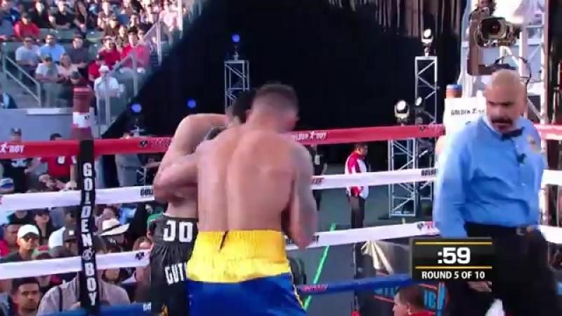 Габриэль Росадо vs Иисус Антонио Гутьеррес (полный бой) [4.06.2016]