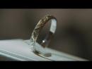 Обручальное кольцо с матированной поверхностью