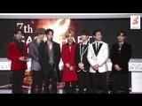 [Видео] 180214 GOT7 получают награду «Hot Performance of the Year» @ 7th Gaon Chart Music Awards
