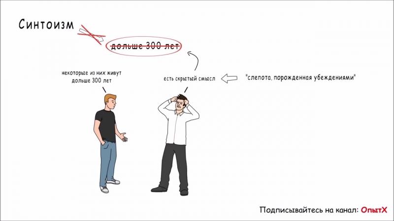 Стереотипы не позволяют нам правильно решать 'Слепота порожденная убеждениями' mp4
