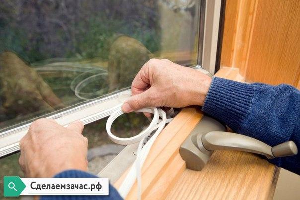 Как утеплить пластиковое окно своими руками на зиму?  Казалось бы ме