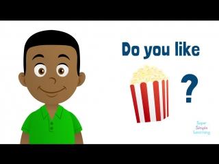 Do You Like..? Yes I do/No I don't (food)