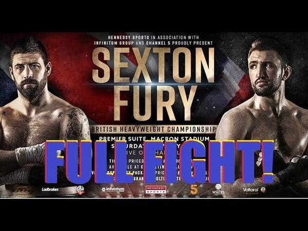 HUGHIE FURY vs SAM SEXTON !FULL FIGHT! Хьюи Фьюри — Сэм Сэкстон! Полный бой!