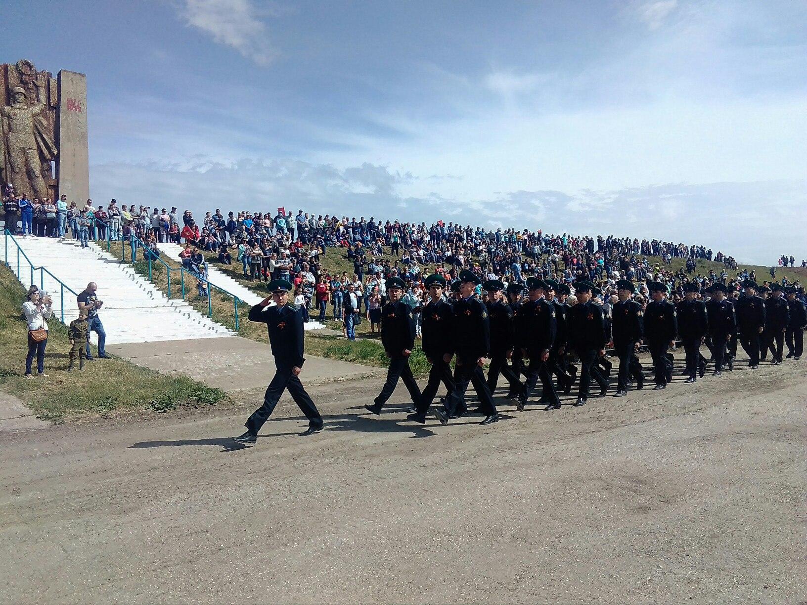 Появились фото 9 мая в Армянске