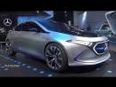 Mercedes Benz EQA Concept Car - Exterior And Interior Walkaround