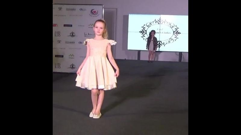 Показ Вероники Мироновой под брендом Cool Children's Clothes