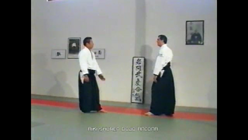 Морихиро Сайто Сенсей, 9 дан айкидо Айкикай. Кайтен наге (Kayten nage)
