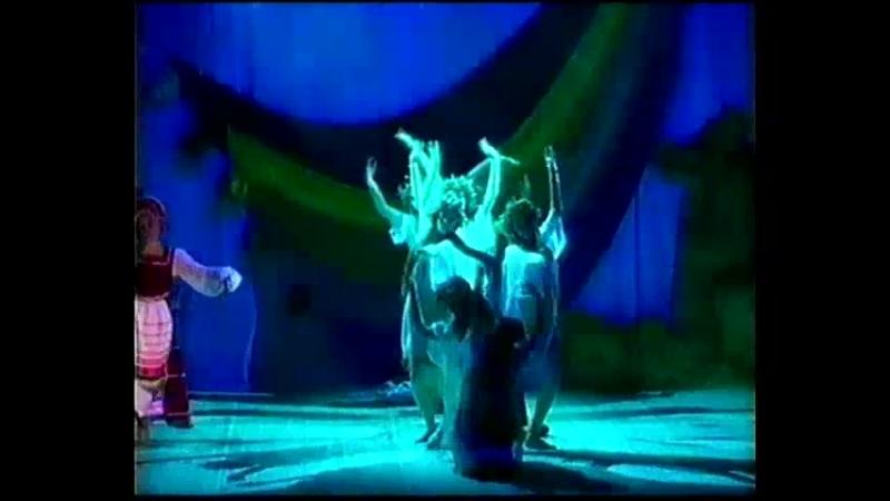ЧУДО ТВОРЕЦ Отрывок из сюиты Русалии Заклинания Постановка Н Фокиной