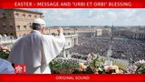 Pope Francis - Easter - Message and Urbi et Orbi Blessing 2018-04-01