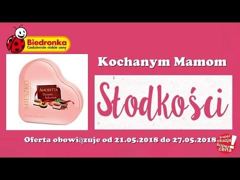Oferta Biedronki od 21.05.2018 | Słodkości