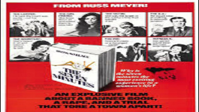 1971 Russ Meyer The Seven Minutes Wayne Maunder Marianne McAndrew Philip Carey