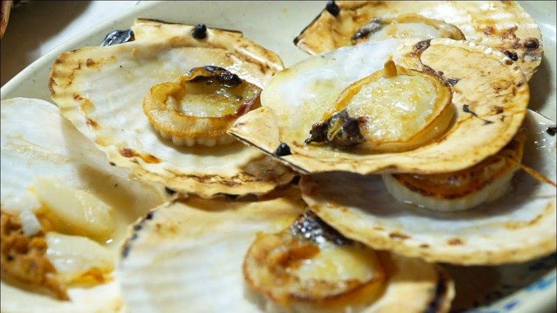 Korean Seafood FEAST LIVE OCTOPUS | HUGE Korean STREET FOOD Tour at Noryangjin Fish Market, Seoul