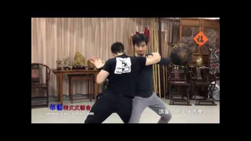洪家-工字伏虎拳及拆解(上) Hung Ga - Gong Ji Fuk Fu Kuen Application(Part 1)