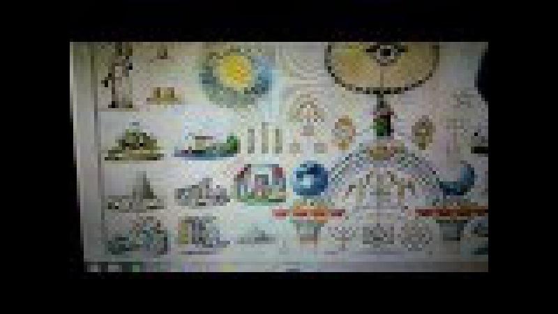 Flat Earth / Masonic art proves they know FE