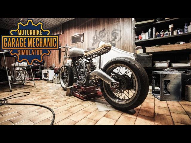 Motorbike Garage Mechanic Simulator - Первый Взгляд