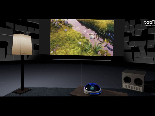 Tobii Eye-Tracking: Toggling Settings In A VR Home Theater