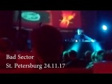 Bad Sector Live St. Petersburg