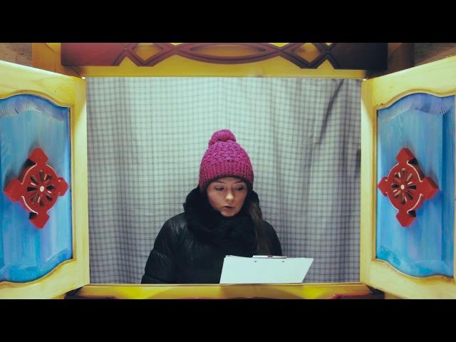 Окно в сказку: Ирина читает отрывок из сказки Двенадцать месяцев