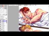 Good morning(vkook) - BTS speedpaint
