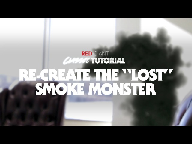 Classic Tutorial | Re-Create the LOST Smoke Monster with Trapcode Particular