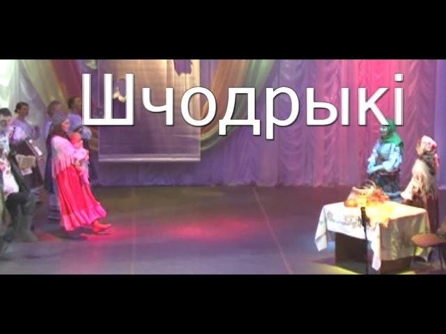 Пример обрядового действия (Шчодрыкі) д. Новицковичи (Каменецкий район, Брестск...
